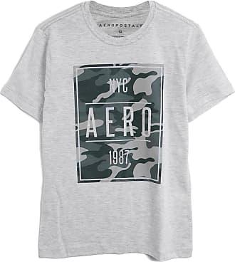 Aéropostale Camiseta Aeropostale Menino Camuflado Cinza