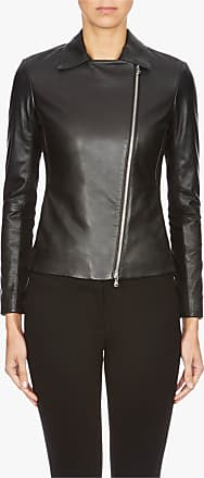new list new images of in stock Giorgio Armani Leather Jackets for Women − Sale: up to −70 ...