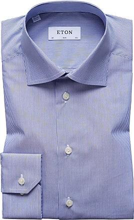 Eton Businesshemd mit Kentkragen, Slim Fit von Eton in Blau für Herren