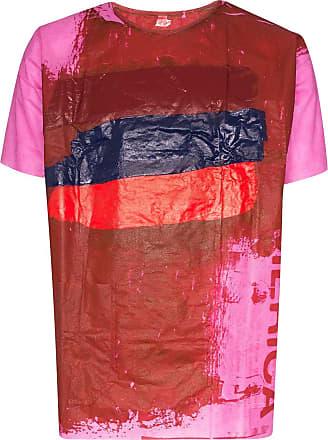 Raf Simons Camiseta com estampa - Rosa