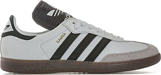 adidas Originals adidas Mens Originals Mens Samba Made in Germany Trainers in White Black - UK 5