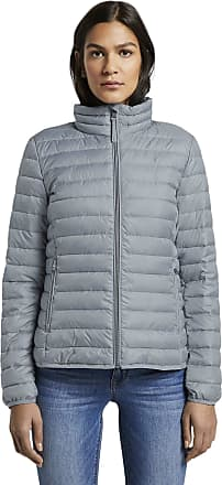 Tom Tailor Womens Ultra Light Weight Quilted Jacket, Strut Gray, M
