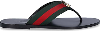 Gucci Sandals GG textile Logo black