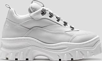 Msgm tractor sneakers color white