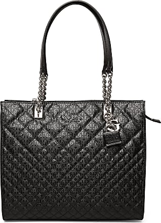 Guess Queenie Tote Bags Shoppers Fashion Shoppers Svart GUESS