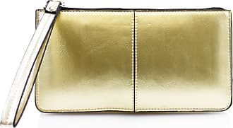 LeahWard Womens Faux Leather Purse Nice Bag Great Brand Purses Card Key Photo Bus Pass Holder For Women 20146 (Gold)