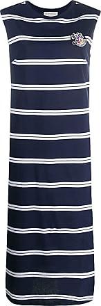 être cécile striped dress - Blue