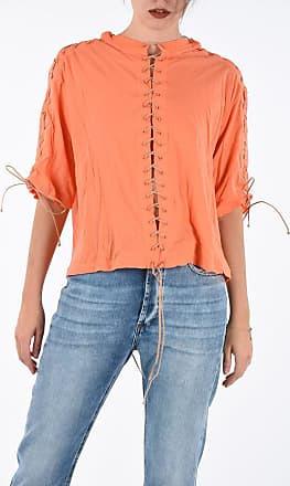 Unravel Laced Crop T-shirt Größe M