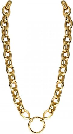 Acotis Limited Nikki Lissoni Large Link 48cm Gold Plated Chain Necklace N1001G48