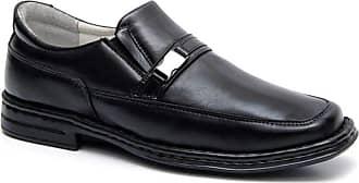 Generico Sapato social masculino super confort, anti-stress e semi-ortopédico, em legitimo couro mestiço(pelica), solado de borracha, forrado com napa de couro