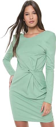 Colcci Vestido Colcci Curto Torção Verde