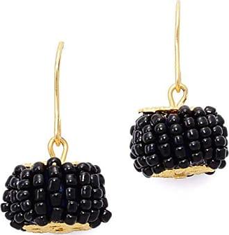 Tinna Jewelry Brinco Dourado Pneu (Preto)