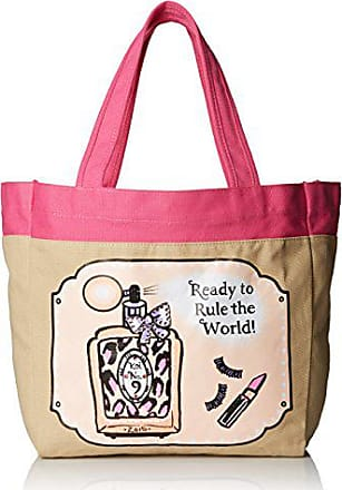 Koi Womens Canvas Tote Bag with Fun Designer Print, Number, One Size
