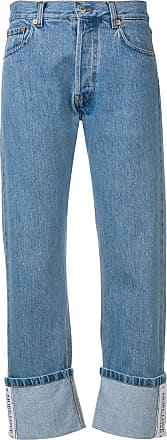 Forte Couture cropped straight-leg jeans - Azul