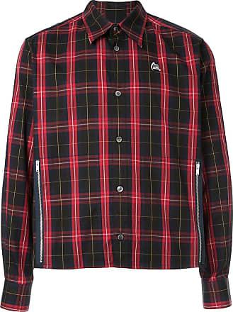 Undercover Camisa com padronagem xadrez - Vermelho