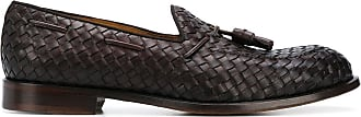 Doucal's Loafer mit Webmuster - Braun