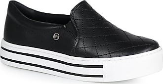 Via Marte Slip On Feminino Via Marte Costura