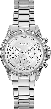 Acotis Limited Guess Watches Ladies Stainless Steel Sunray Multi-function Watch W1293