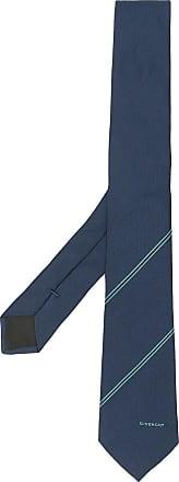 Givenchy jacquard tie - Azul