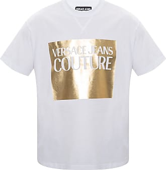 Versace Jeans Couture T-shirt With Logo Mens White