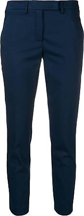 Blanca Calça de alfaiataria cropped - Azul