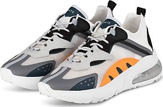 D.A.T.E. Sneaker AURA OTTER - WEISS/ ORANGE/ GRAU