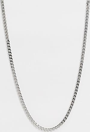 Icon Brand Catenina barbazzale in acciaio inossidabile argento