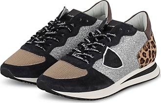 Philippe Model Sneaker TRPX TROPEZ - SCHWARZ/ BEIGE/ SILBER