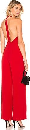 NBD x Naven Macie Jumpsuit in Red