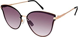 Elie Tahari Womens TH725 Two-Tone Cat-Eye Metal Sunglasses with 100% UV Protection, 59 mm