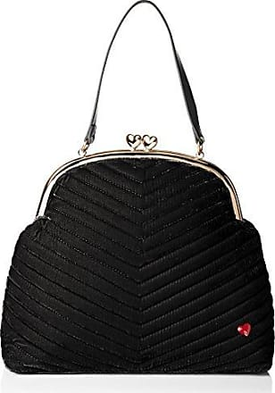 ecdd9d569c Dear Drew by Drew Barrymore Heartbreaker Velvet Top Handle Everyday Purse