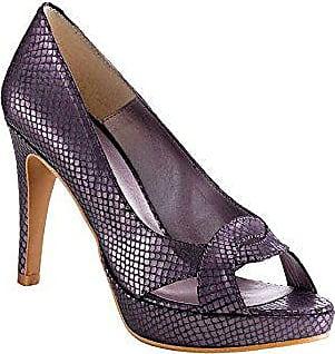 8e940ac15df369 Ashley Brooke Damen-Schuhe Peeptoes Violett Größe 40