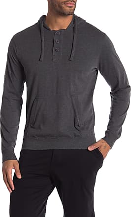 Unsimply Stitched Light Weight Henley Hoodie