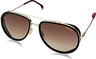 1feb9ba00e571 Carrera Mens 166 s Aviator Sunglasses GOLD RED 59 mm