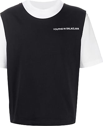 Youths in Balaclava Camiseta com estampa de logo Falling - Branco