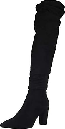 ce8401b1a47b Chinese Laundry Womens RAMI Knee High Boot, Black Suede, 5.5 M US