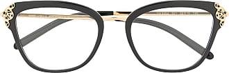 Dolce & Gabbana Eyewear Armação de óculos borboleta DG5052 - Preto
