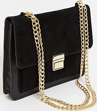 Urban Code leather cross body bag with hardware in black
