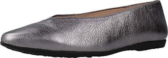 Wonders Women Womens Ballerina Shoes A9901 Silver 7.5 UK