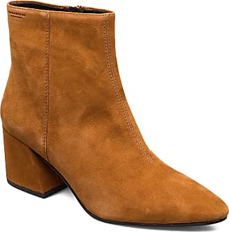 Vagabond Olivia Shoes Boots Ankle Boots Ankle Boots With Heel Brun VAGABOND