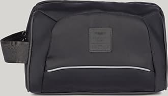 Aston Martin Nylon Wash Bag | Black
