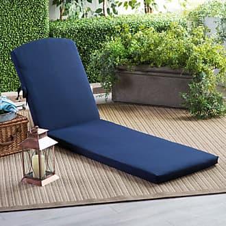 POLYWOOD Sunbrella 77 x 21.25 in. Chaise Lounge Cushion Sunbrella Forest Green - XPWF0004-5446
