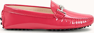 Tod's Gommino Mokassins aus Lackleder, ROSA, 35 - Shoes