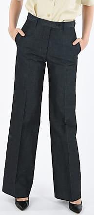 Salvatore Ferragamo Single Pleat Palazzo Pants size 42