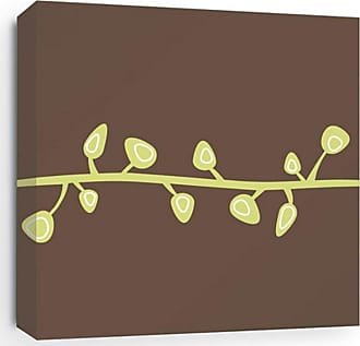 Inhabit Bud Canvas Wall Art Chocolate - BDC_1616C