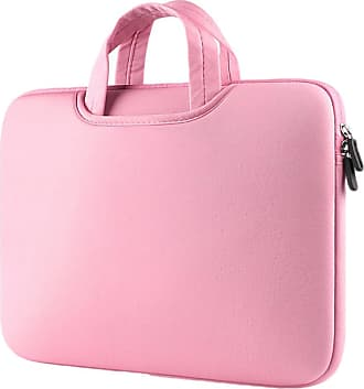 YiJee Laptop Sleeve Cover Protective Bag Notebook Carrying Case 15.4 Inch Pink