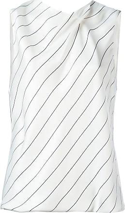 096eb3efa2444f Giorgio Armani striped sleeveless top - White