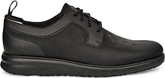 UGG Mens Union Derby Waterproof Trainer in Black, Size 10, Leather