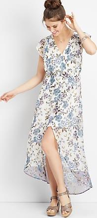 195c2480d33c Maurices Floral Flutter Sleeve Maxi Dress