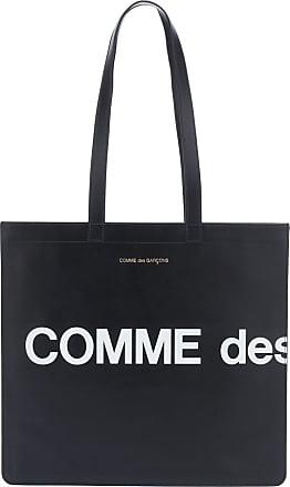 Comme Des Garçons Tote Huge Logo aus Leder